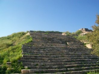 Pamukkale Turkey Travertine Terraces Hierapolis13