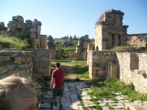 Pamukkale Turkey Travertine Terraces Hierapolis16