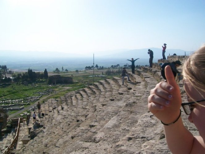 Pamukkale Turkey Travertine Terraces Hierapolis28
