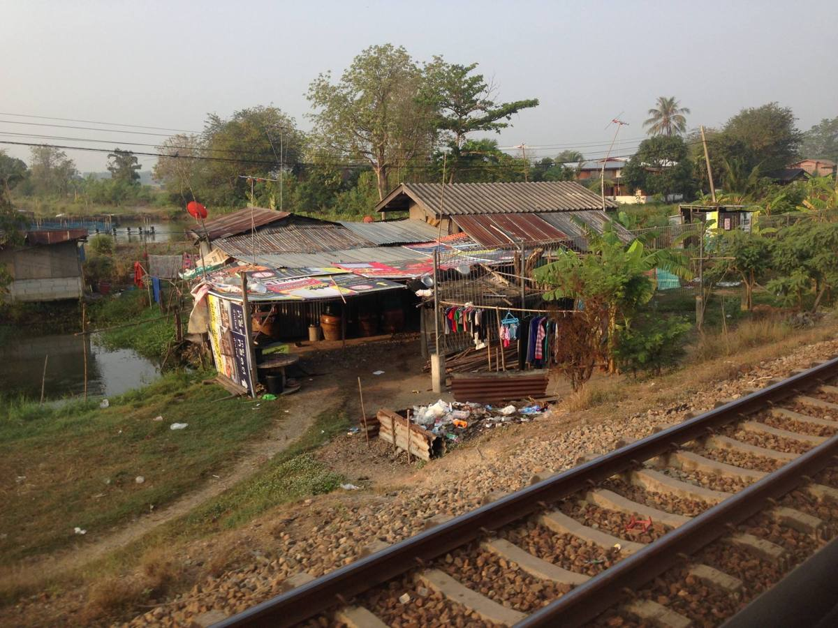 Southeast Asia Train: Bangkok to Siem Reap