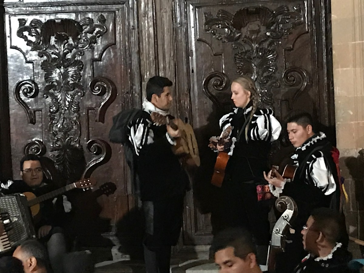 Lydian Performs with the Estudiantina Group in Guanajuato, Mexico
