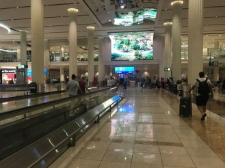 Baggage claim hall (which is after both immigration AND the PCR test point)
