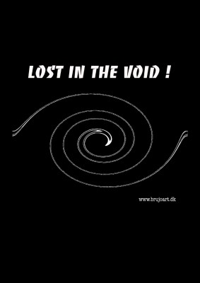 Lost In the void ! (Black)