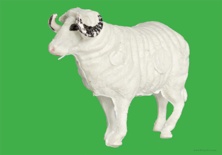Plastic Fantastic: Sheep
