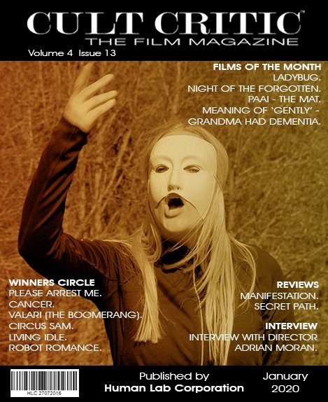 Review of MANIFESTATION in Cult Critic Magazine