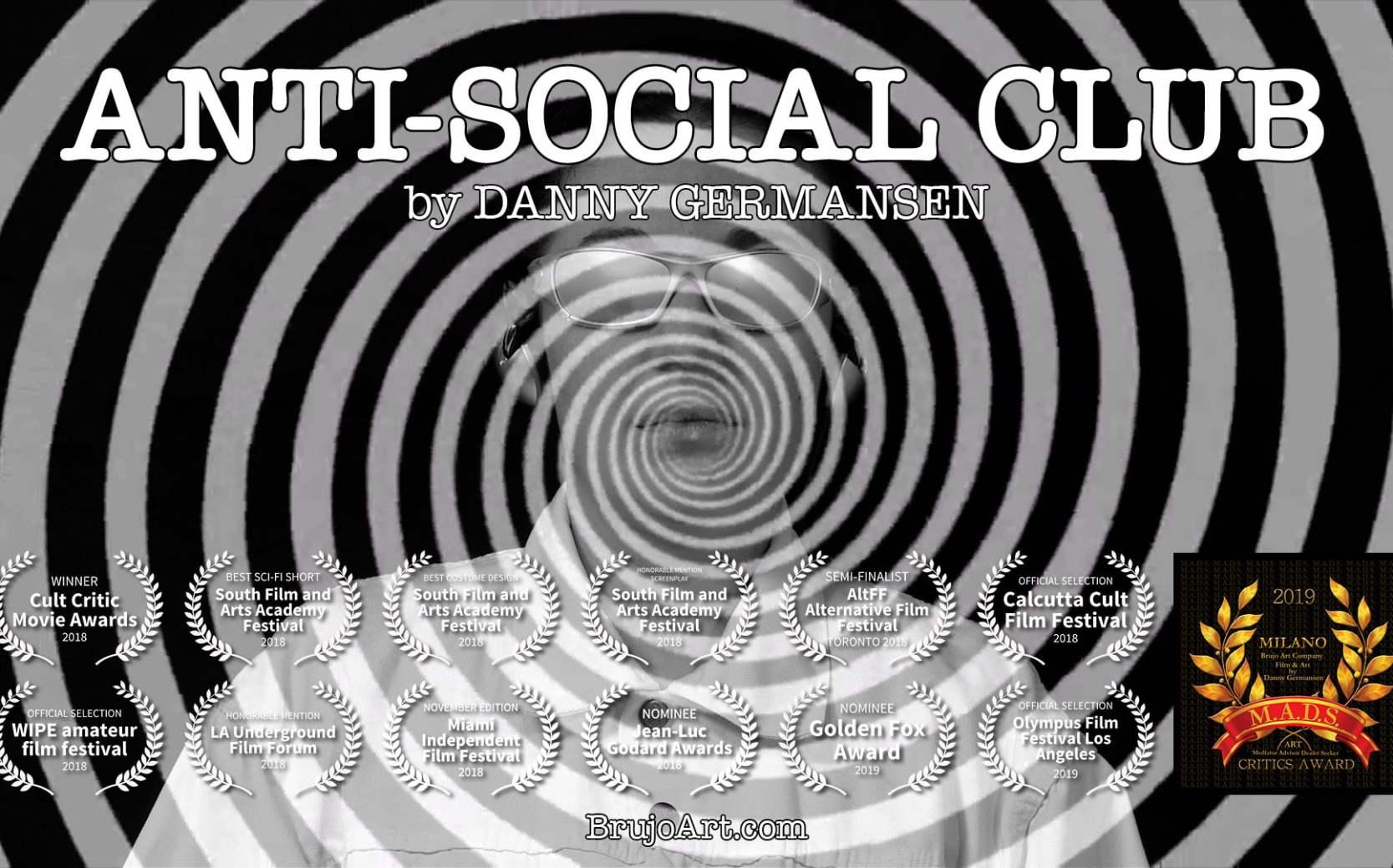 Anti-Social Club   Film & Art by Danny Germansen   Brujo Art