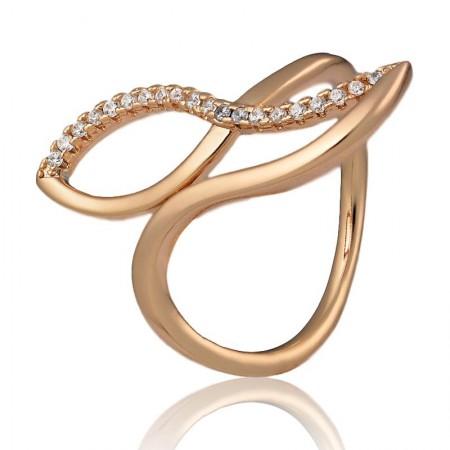 Позолоченное кольцо Xuping 10192 купить в Украине цена ...