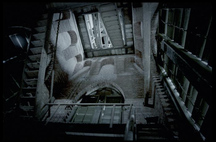 wewnatrz wiezy / inside tower