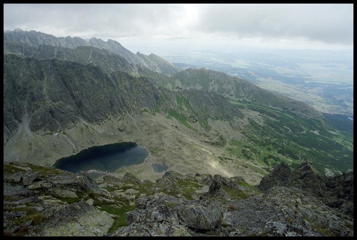 idac szlakiem mijamy kilka jeziorek