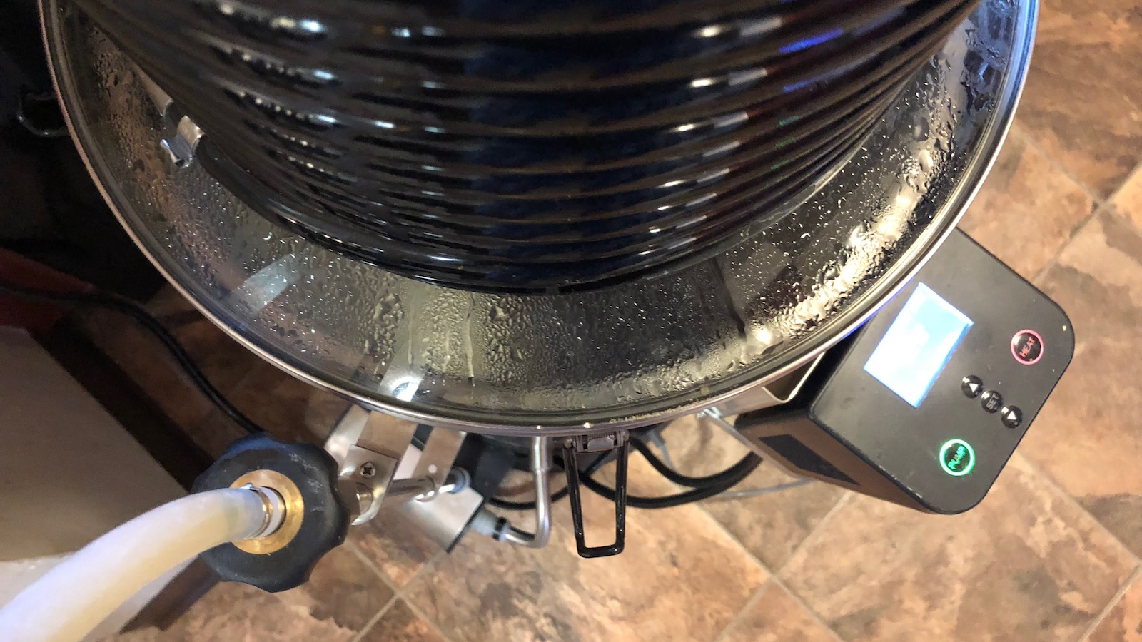 Grainfather All Grain Brewing System With Connect Controller Wire 240v Electric Brew Pot Home Forums Granted The Is Designed To Leave Roughly 07 Gallons 25 Liters In Bottom Of Kettle But Id Prefer Have A Bit More Control Over