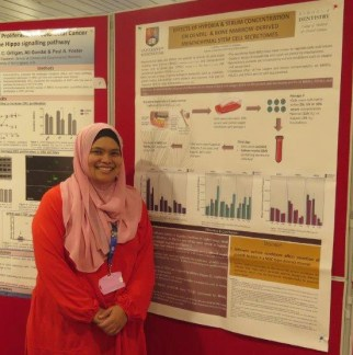 Farha by her poster