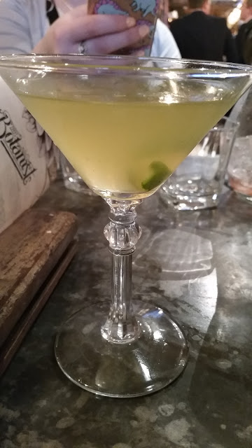 Botanist vodka martini.