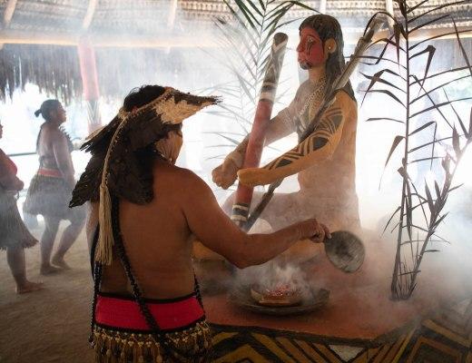ritual-de-abertura-tribo-indígena-pataxó