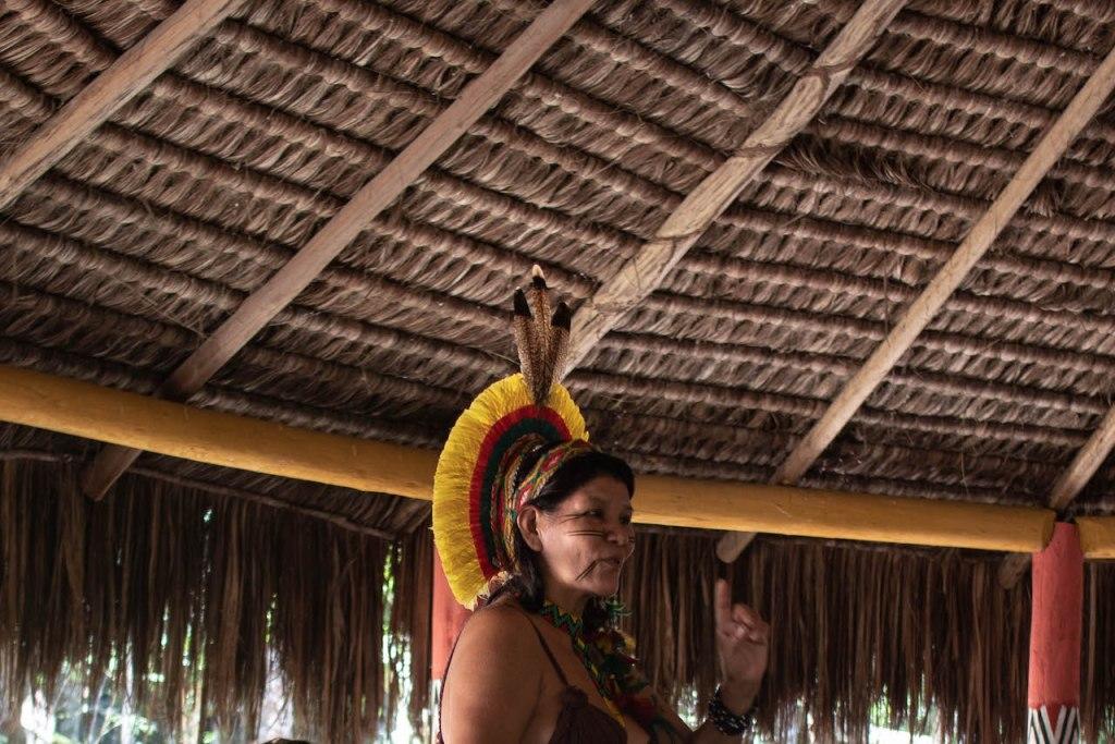 palestra tribo indígena pataxó
