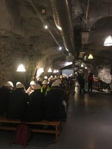 O que fazer em Kiruna ; cafeteria mina LKBA Kiruna