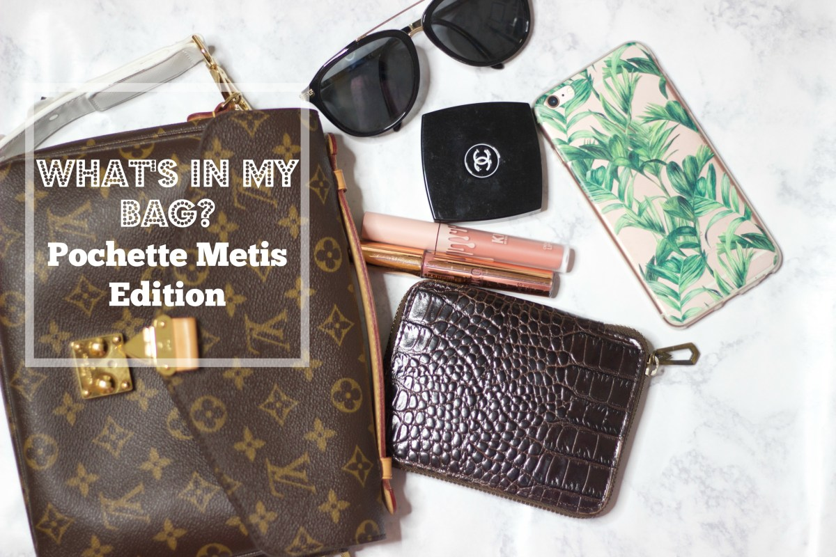 What's in my bag? Pochette Metis Edition!