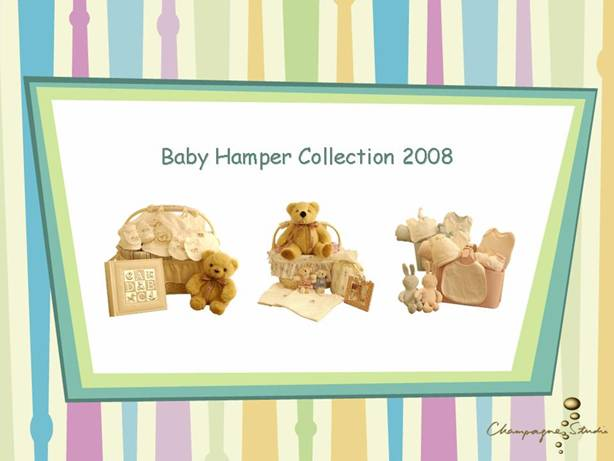 Champagne Studio Baby Hamper Collection 2008