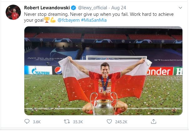 Robert Lewandowski Football