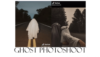 Ghost Photoshoot