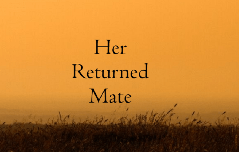 Image of Her Returned Mate