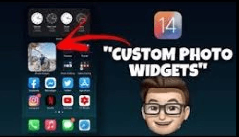 Image of how to use Widget Smith iOS 14