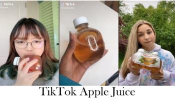 TikTok Apple Juice