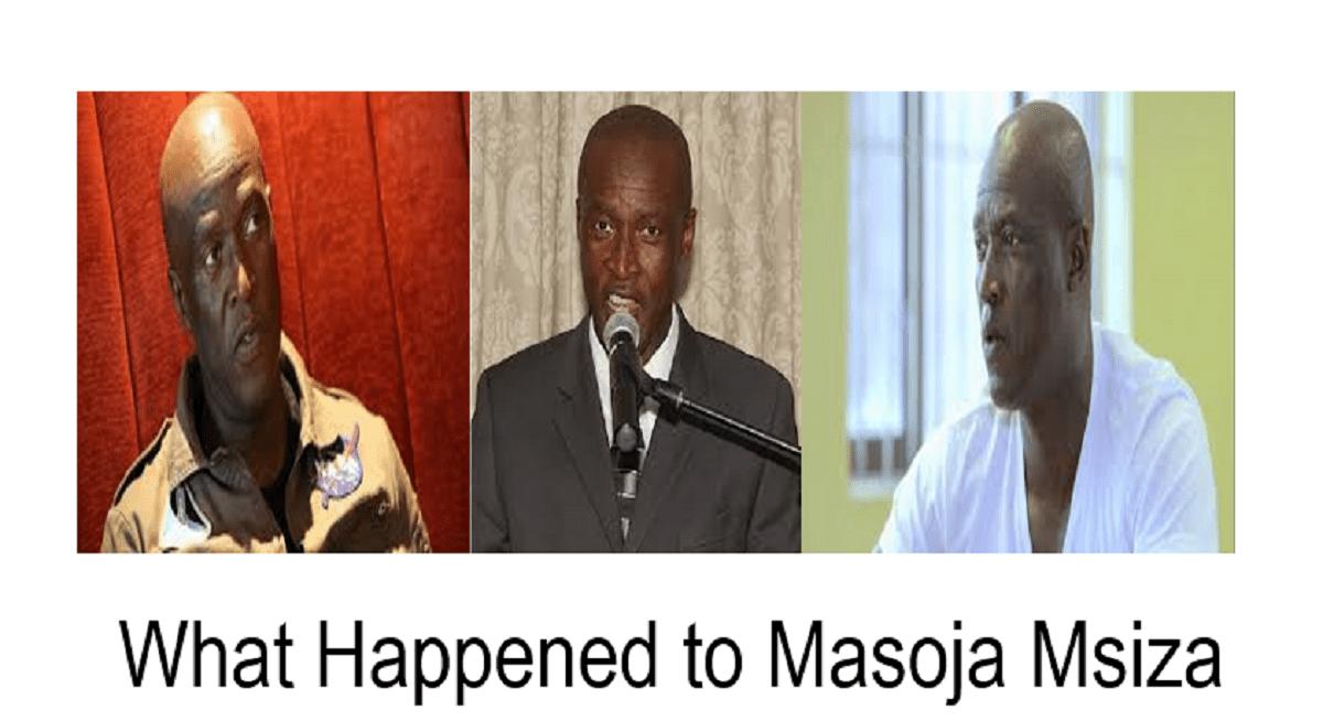 What Happened to Masoja Msiza