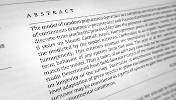 An abstract is summary of novel