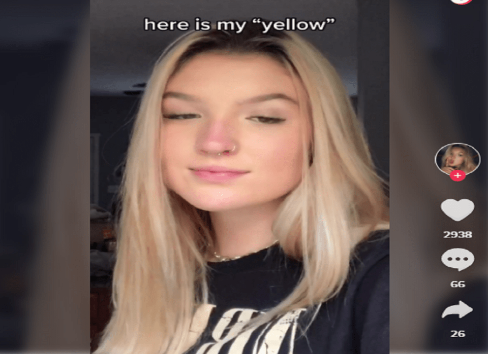 Image Of What Does My Yellow Mean On Tiktok