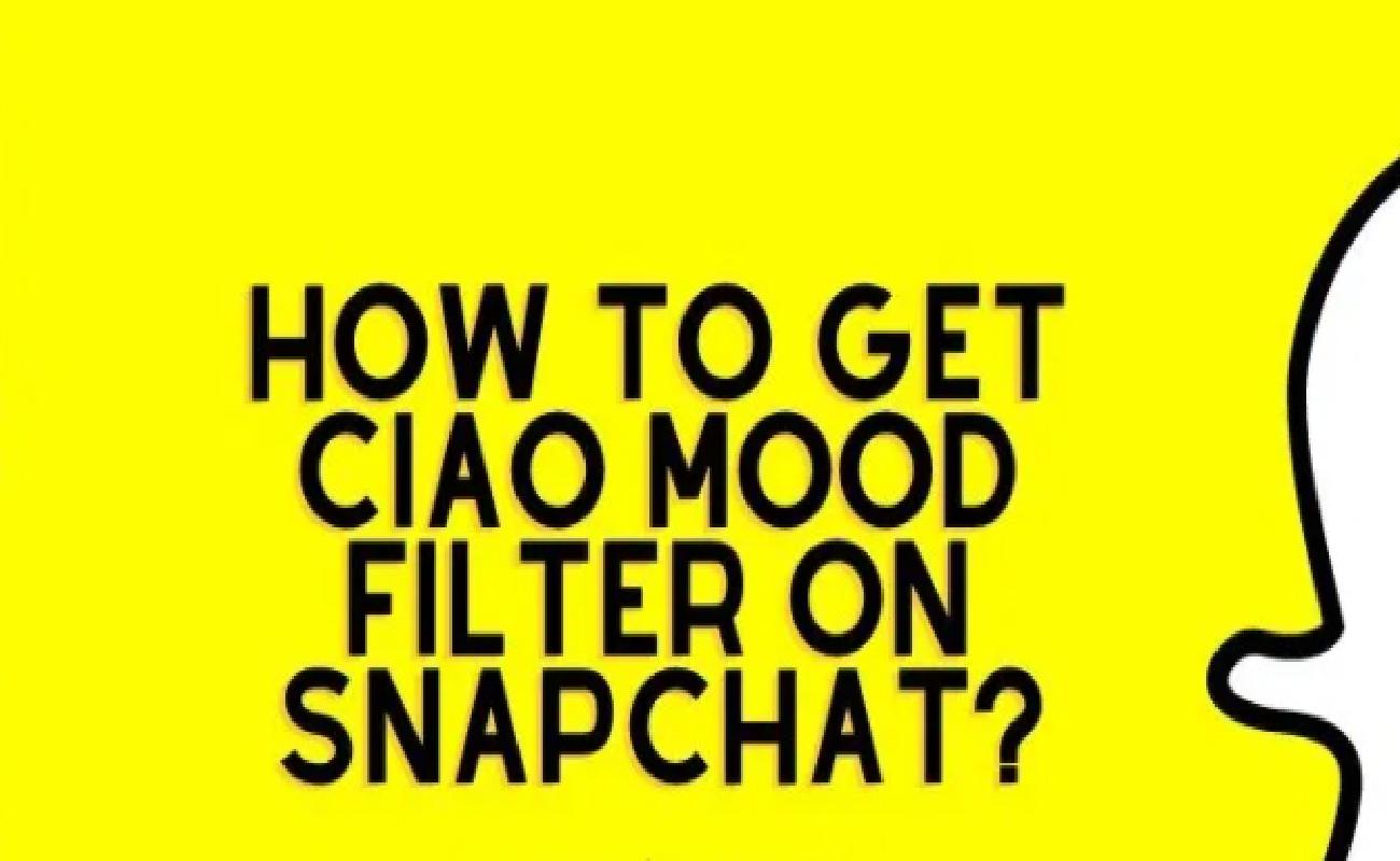 Ciao Snapchat Filter