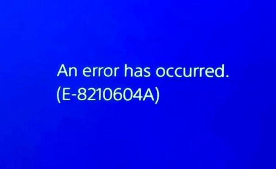 Image Of What Is Error E-8210604a