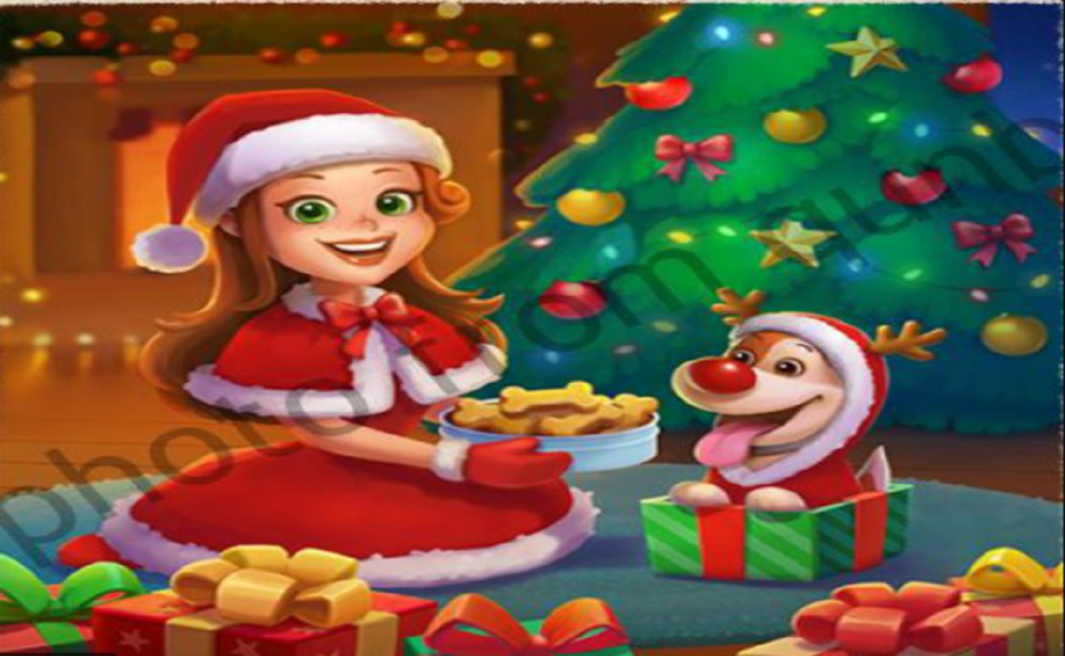 Image Of Word Cookies Christmas Event 2020