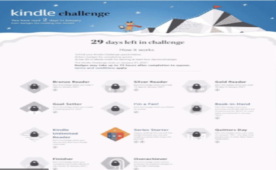 Image Of What Is Amazon Kindle Challenge