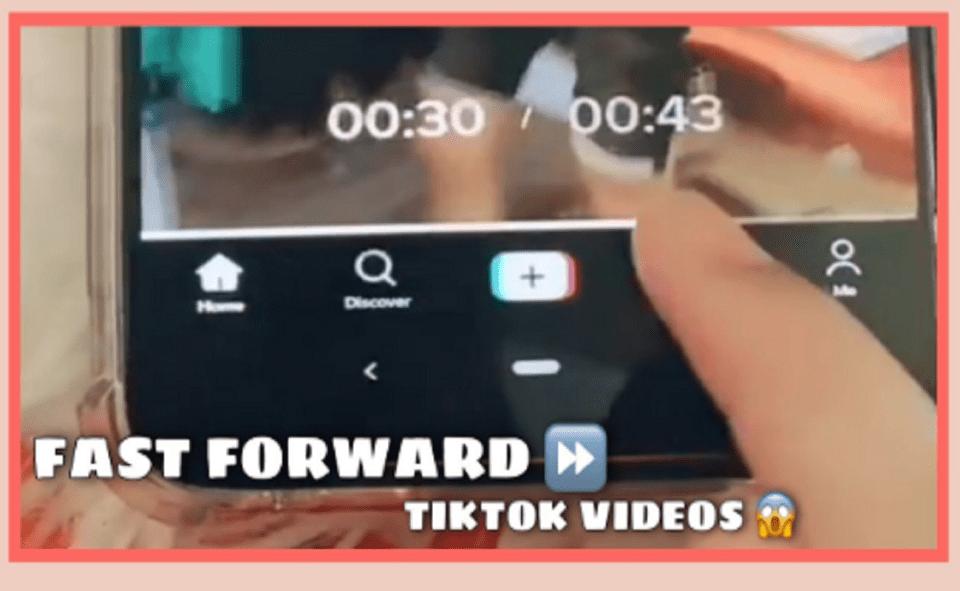Image Of How To Rewind TikTok Video