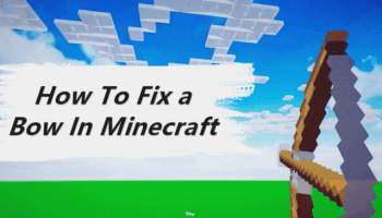 Minecraft Repair Bow