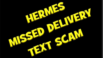 Hermes Scam Text Message