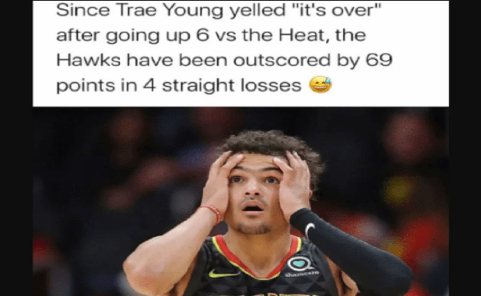 Image Of Spread Of Trae Young Meme