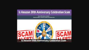 Amazon 30th Anniversary Scam