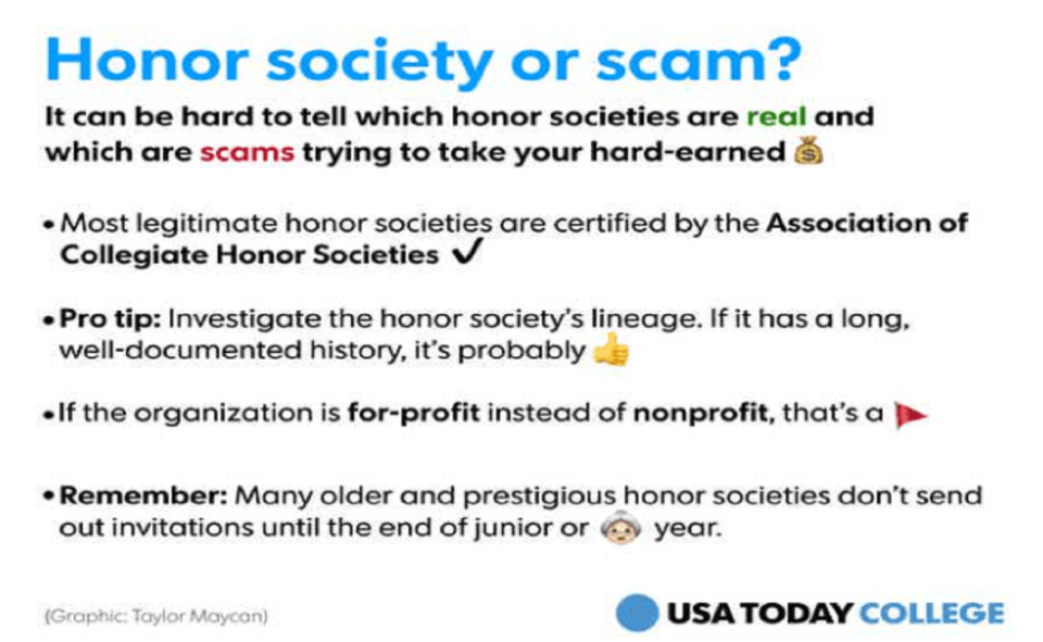 Image Of How To Report Honor Society Foundation Scam