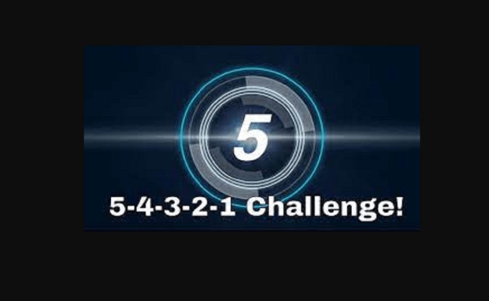 Image Of What Is 54321 Challenge