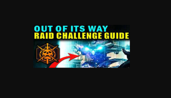 Out Of Its Way Challenge Destiny 2