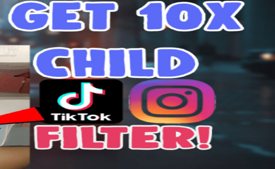 Image Of How To Do Child Filter 10 Times On Instagram.