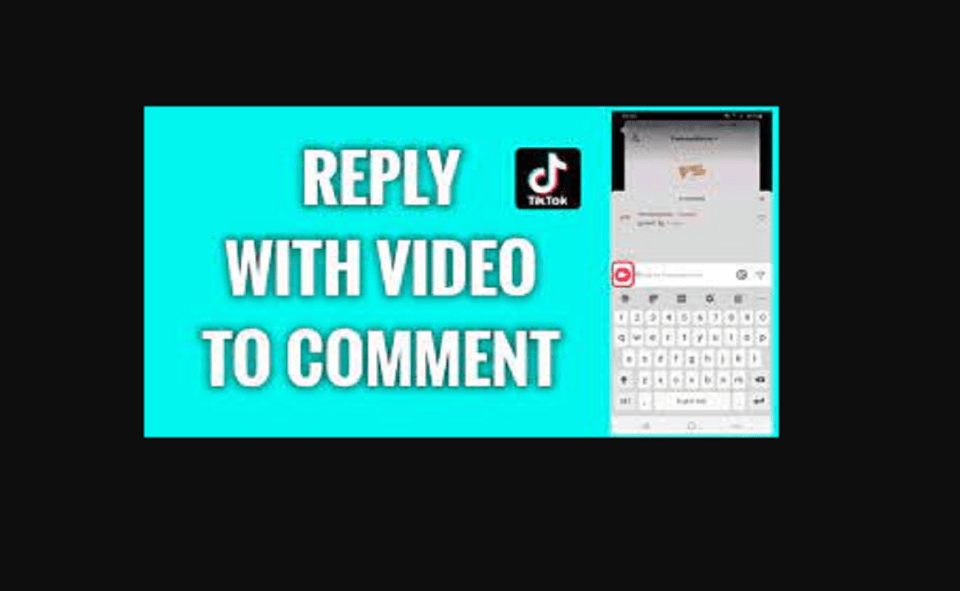 Image Of Reply With A Video On TikTok