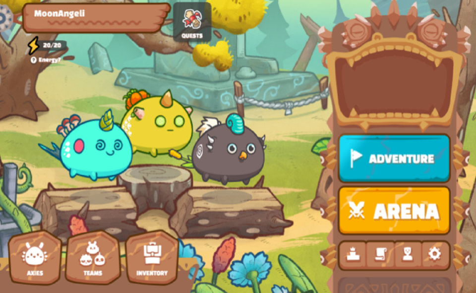 Image Of What Is The Axie Infinity Scholar