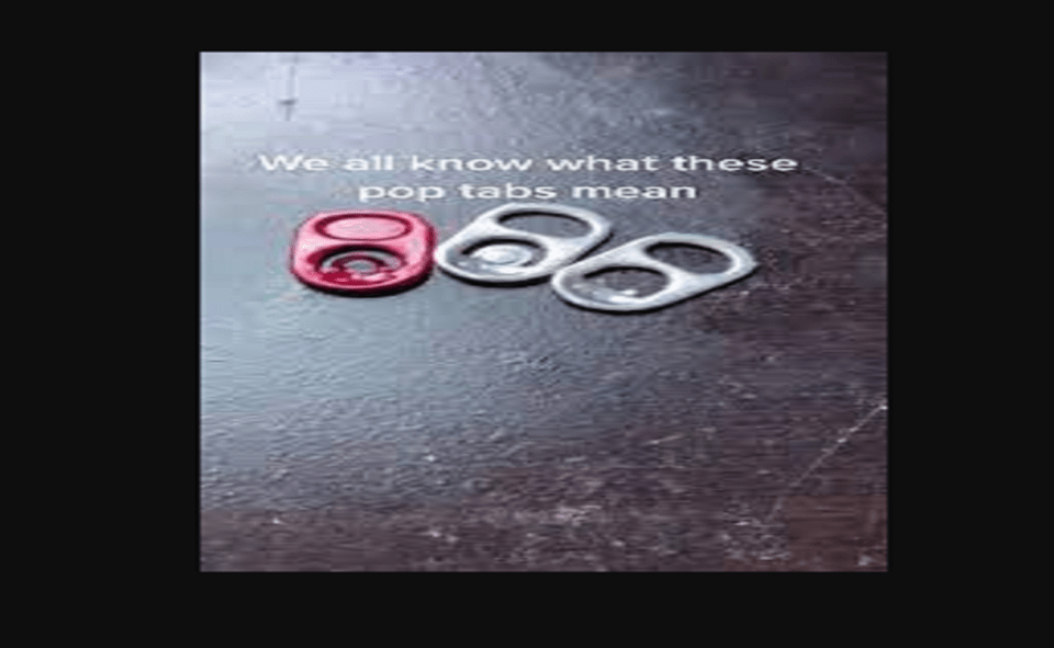 Image Of Soda Can Tabs Meaning