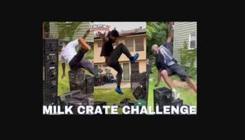 Milk Crate Challenge TikTok