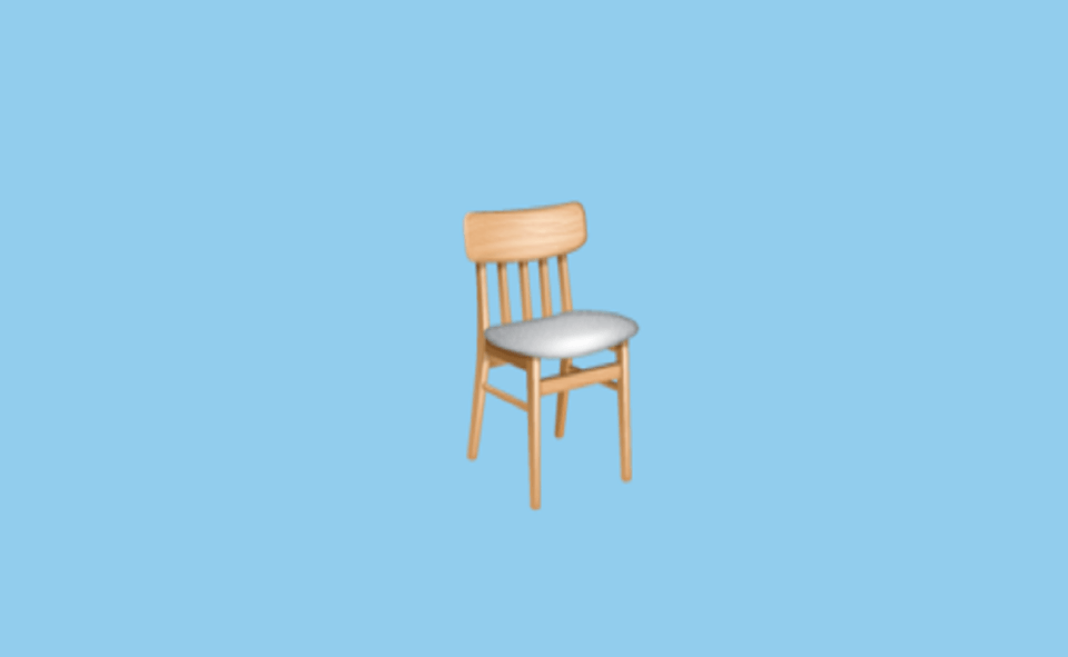 Image Of Chair Emoji Meaning