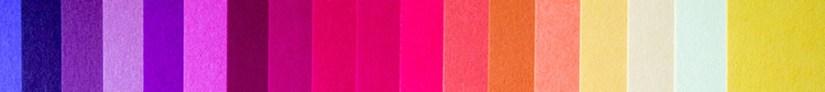 bunter Farbstreifen