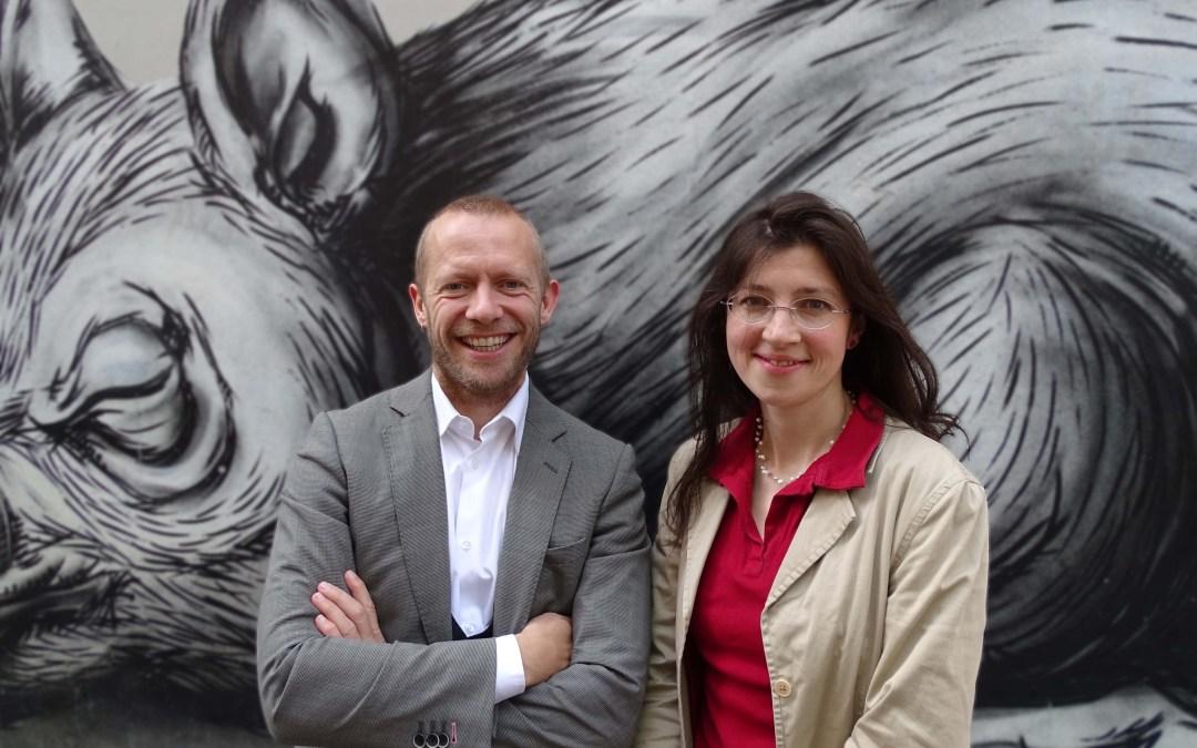Nathalie Slosse en Bruno De Lille