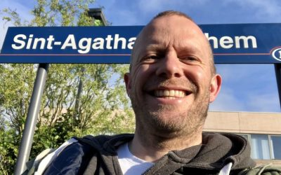 Halte Sint-Agatha-Berchem (9 mei)